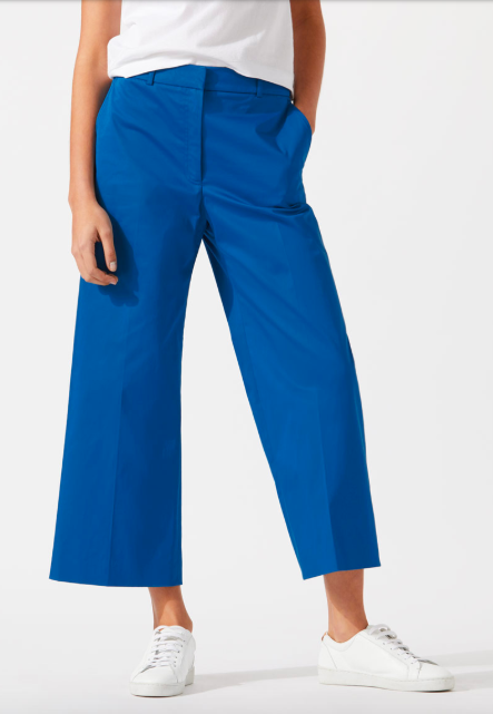 Sapphire wide legged trousers - Jigsaw. Wear with low heeled sandals for a smarter look.