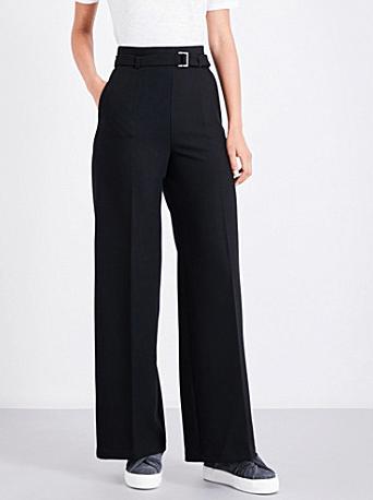 Maje wide legged trousers