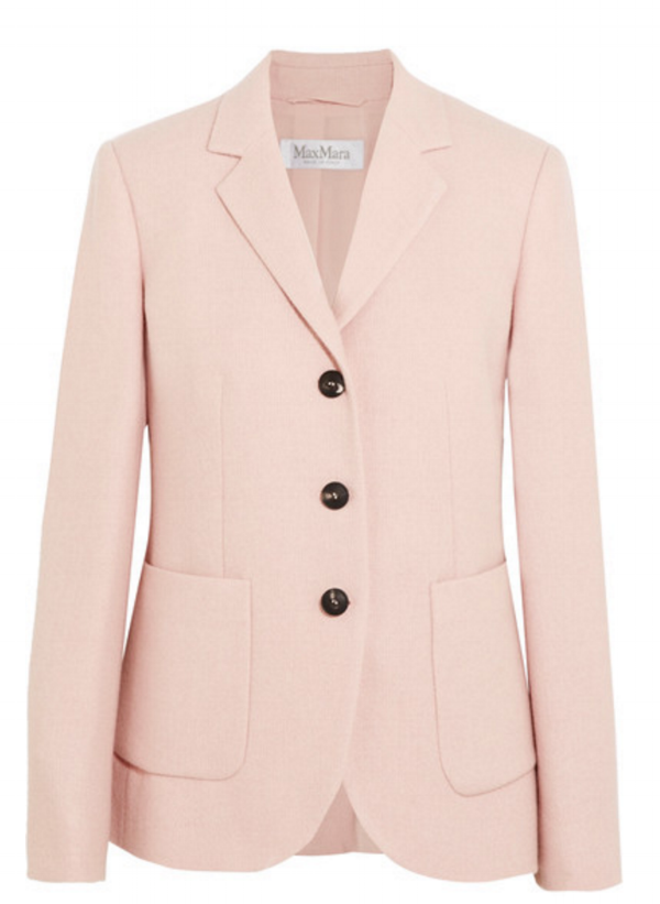 Maxmara pale pink blazer