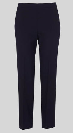 Anna crepe trousers - black or nav y