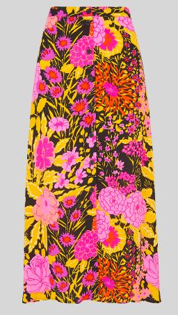 Bloom midi skirt at Whistles
