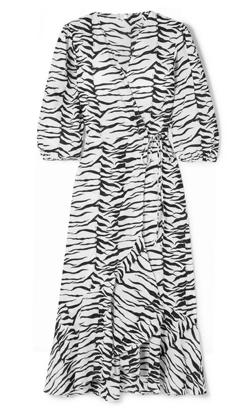 Tiger print Rixo London dress