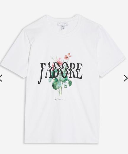 Topshop 'J'adore' Tee Shirt