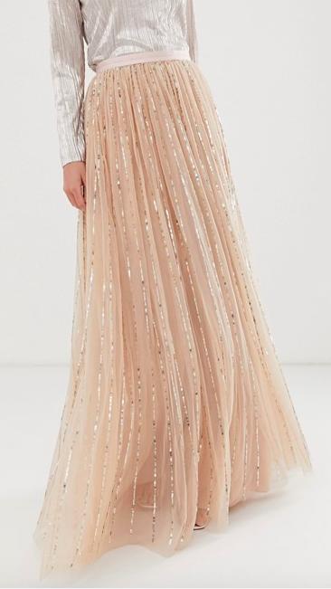 Needle & Thread tulle sequin maxi skirt at ASOS