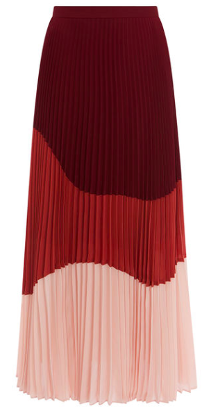 Colour block maxi skirt - Karen Millen