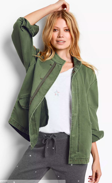 Essential Khaki Jacket from Hush