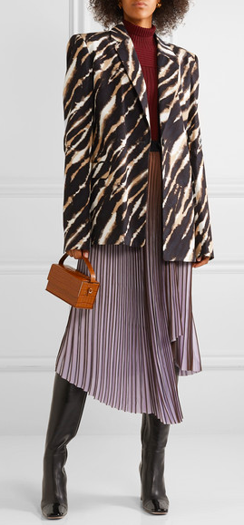 Autumn look with Malene Birger Skirt