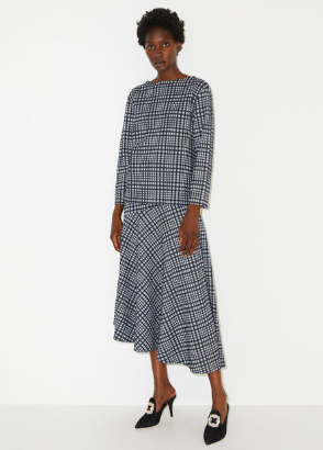 Co-ord top and skirt By Malene Birger