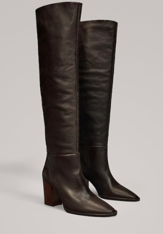 Massimo Dutti over the knee boots