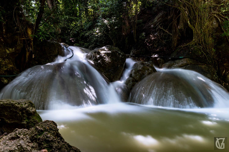 Erawan falls, Kanchanaburi