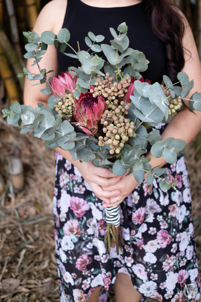 engagement flower bouquet