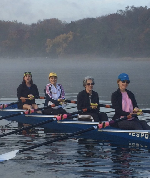 Picture from the bow: Patty, Carole, Peggy and Anne