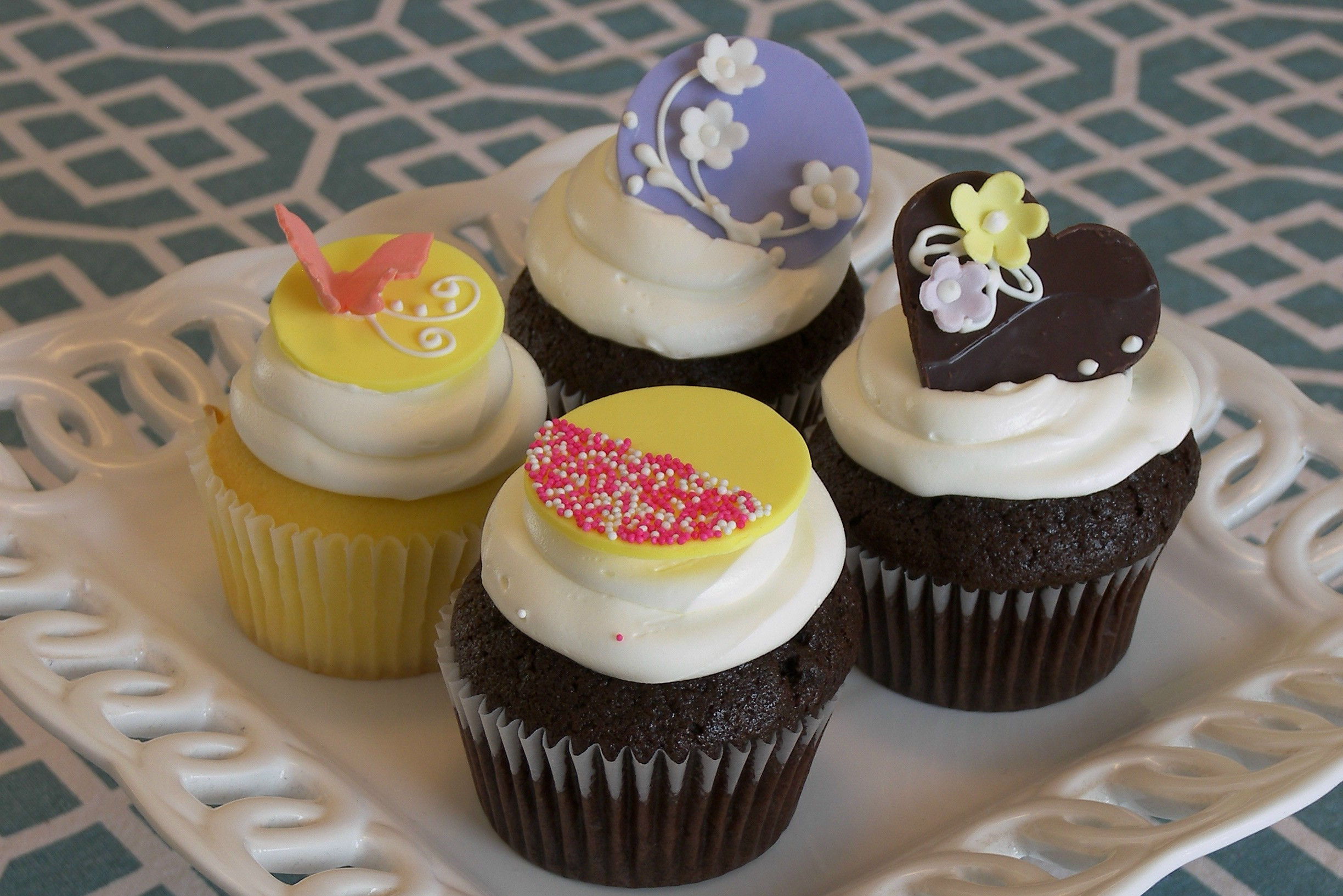 Buttercream Cupcake Sampler #1