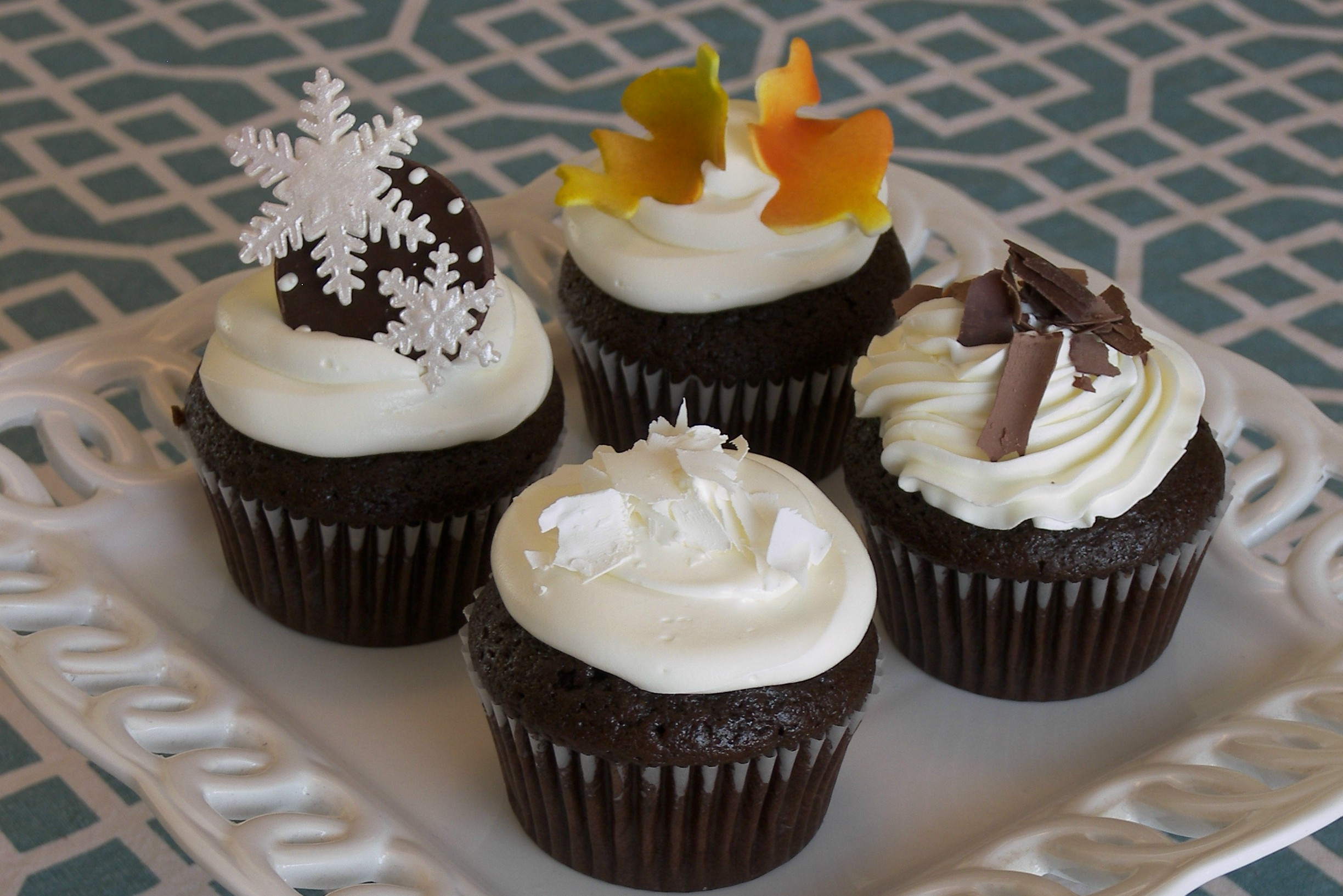 Buttercream Cupcake Sampler #2
