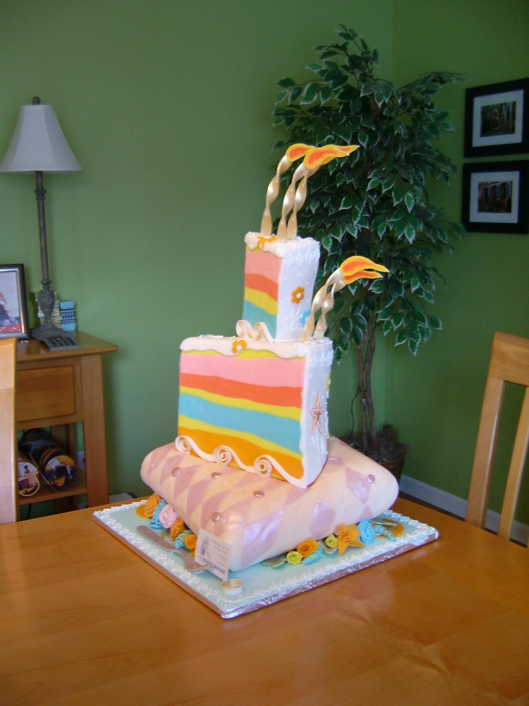 Cake Wedge Cake