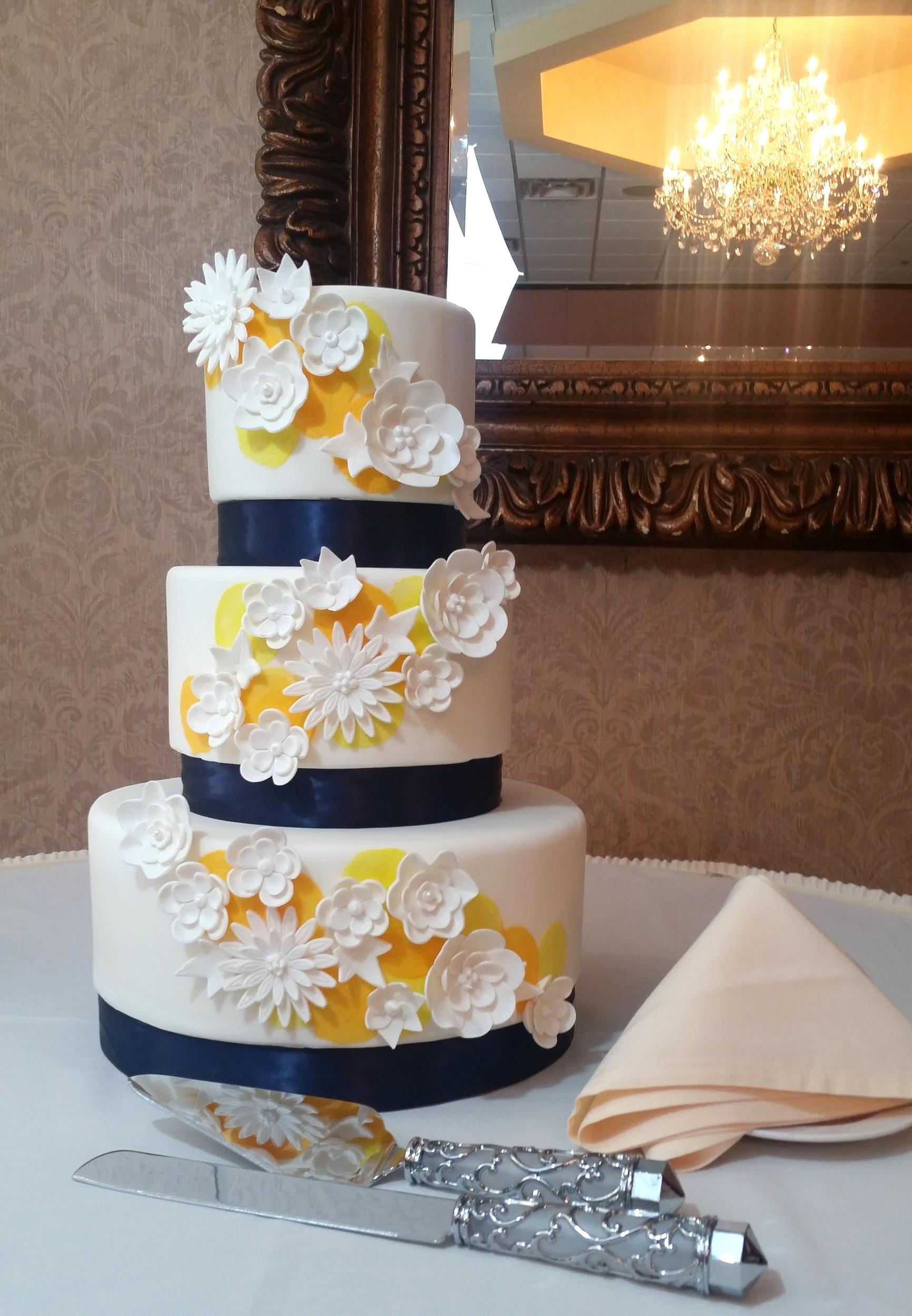 Rolled Fondant Gallery Wedding Cake Art Design Center