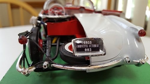 Model of the 1953 Corvette Cutaway 003 by Peter Lombardo