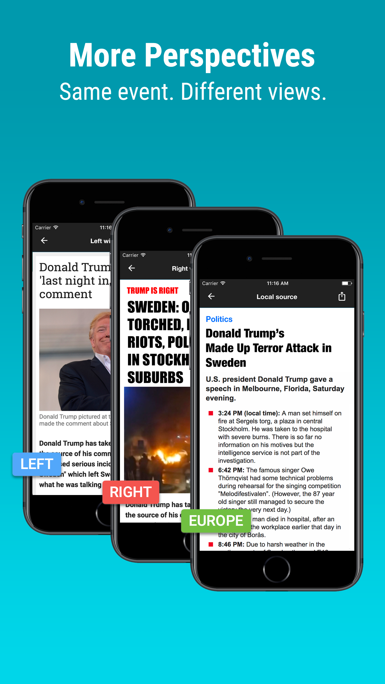 - On Newsvoice you can follow the Catalan vote, help build the story and see different perspectives from the world media. Get the app