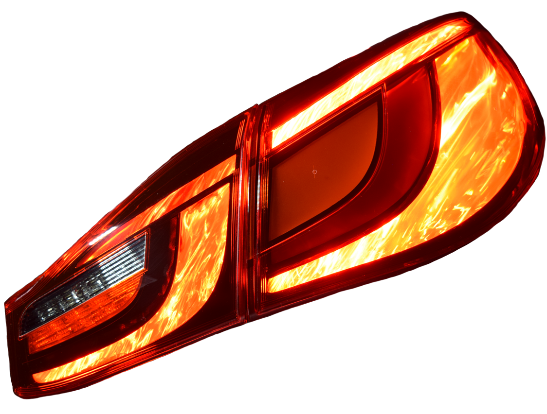 Nissan Infiniti Q-70 Tail Lamp with FLEX F/X integration.