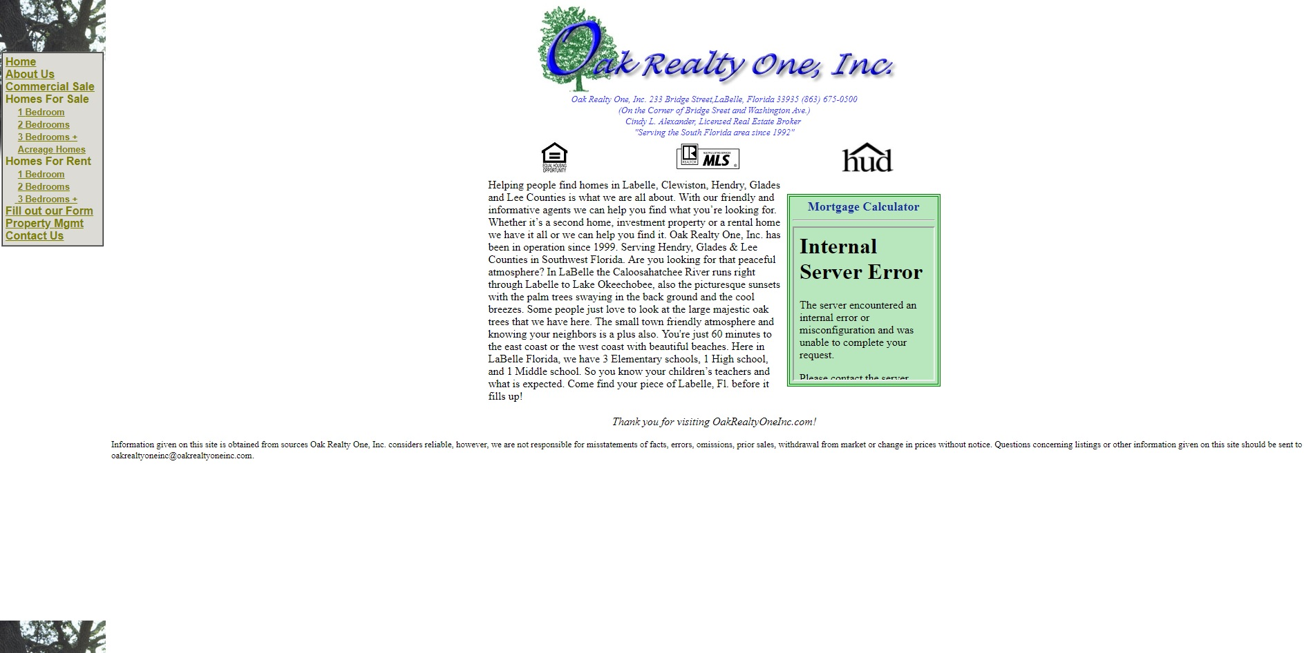 Oak Realty One, Inc.