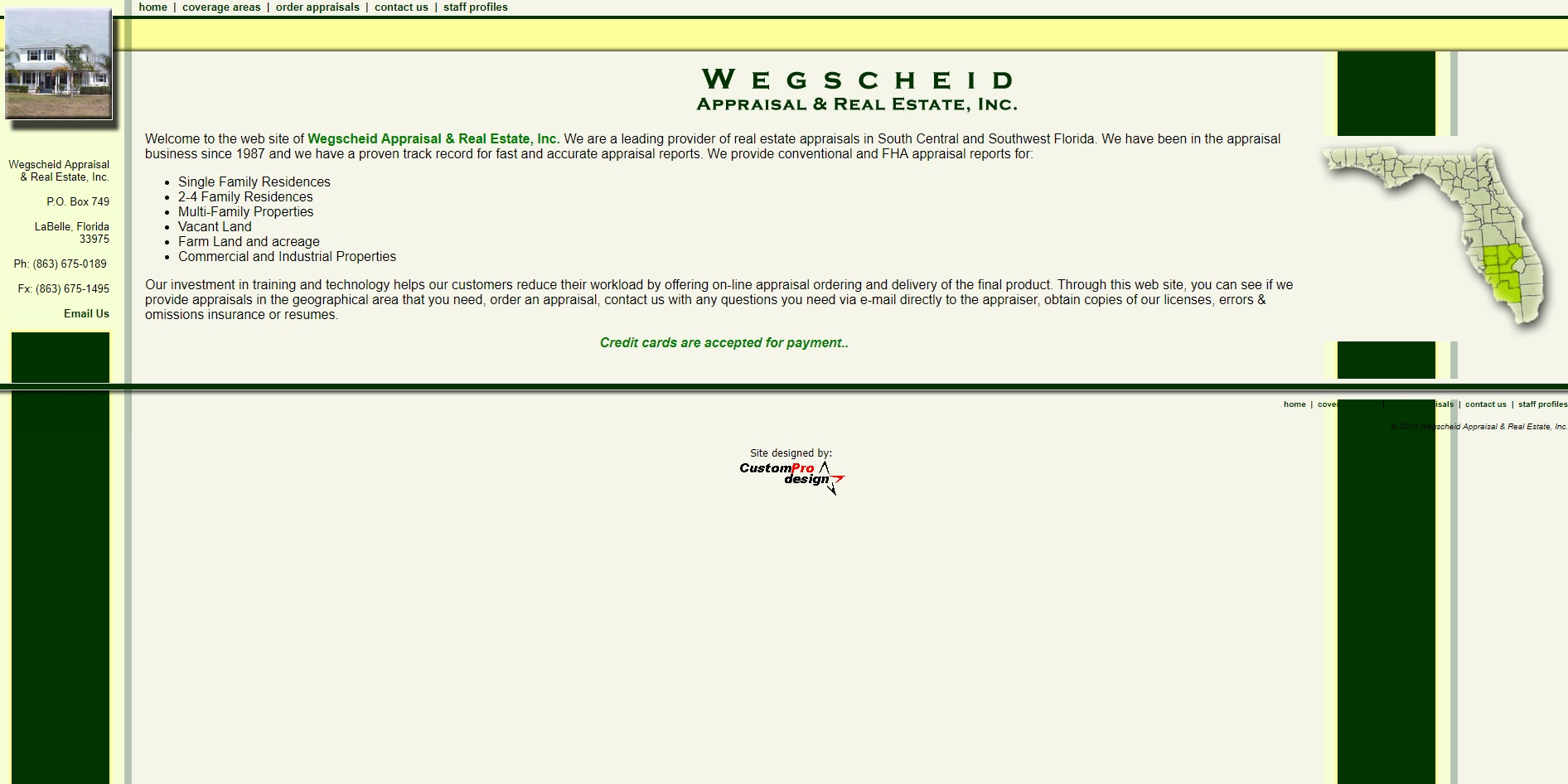 Wegschield Appraisal & Real Estate, Inc.