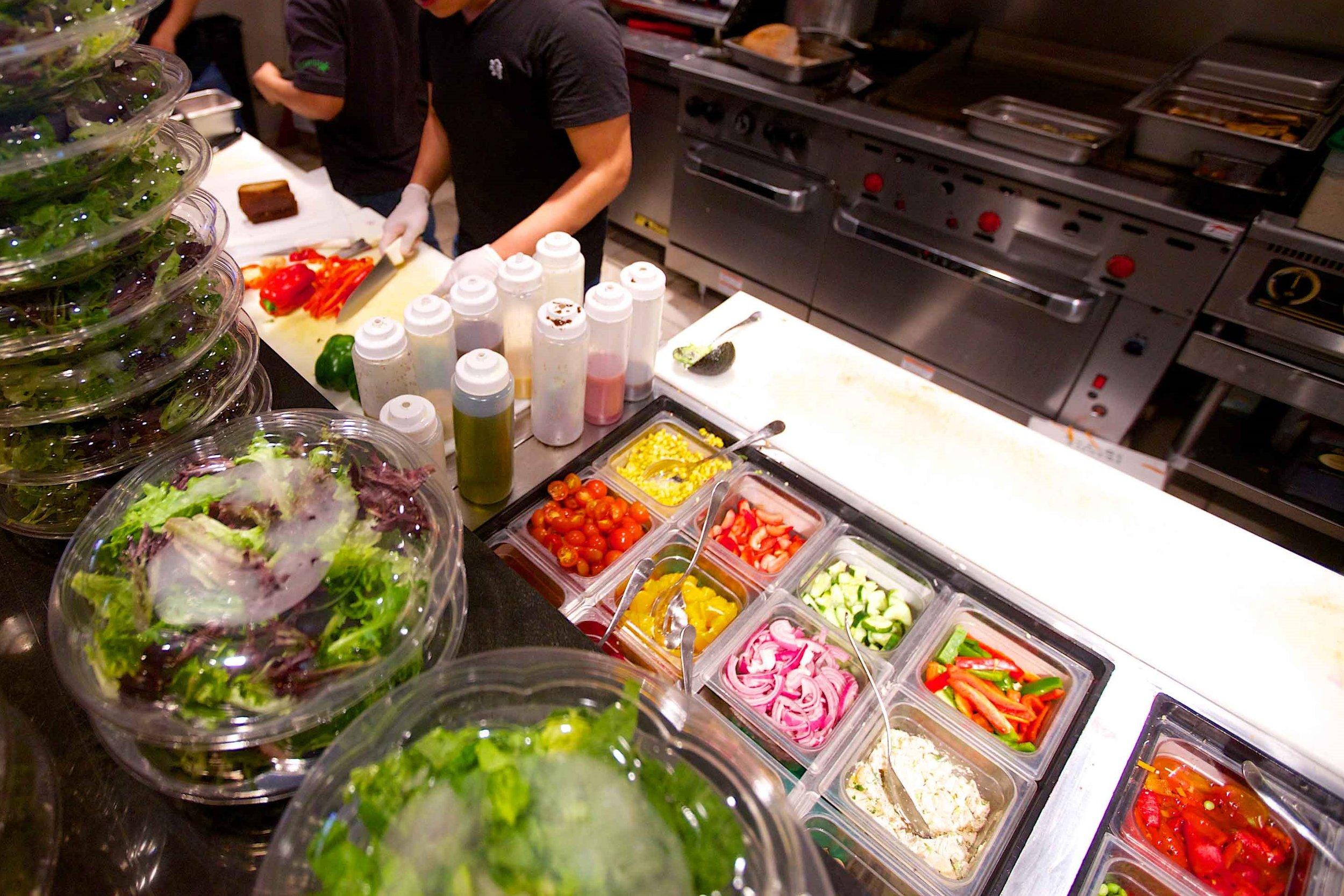 Create Your Own Salad Bar