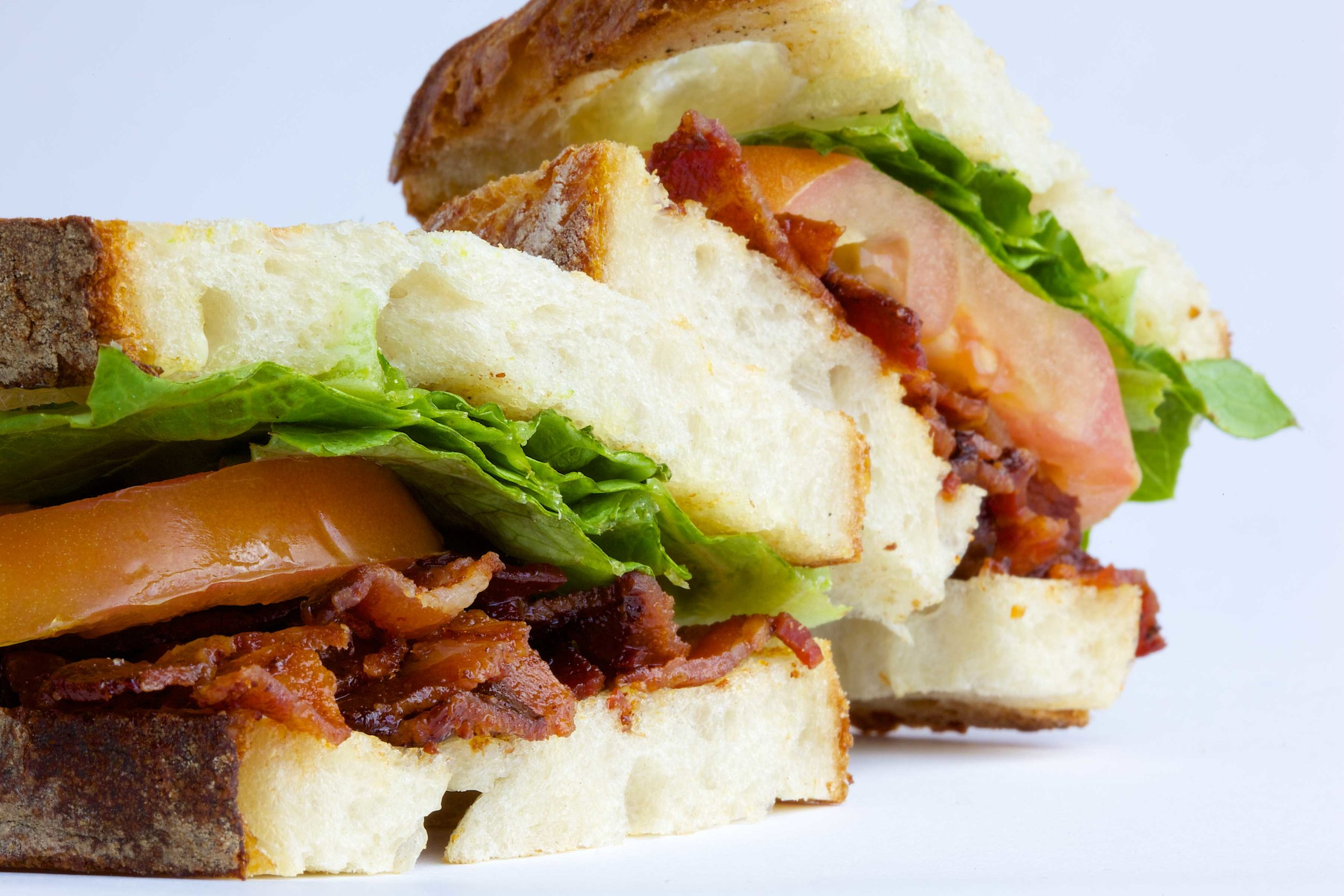 BLT. Have it with regular mayo or spicy aioli