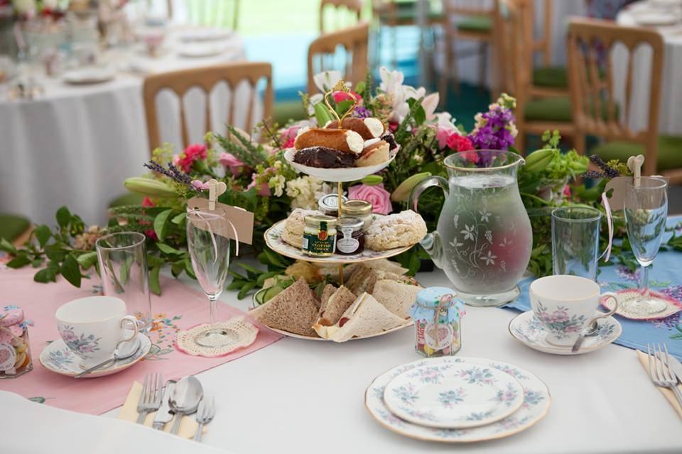 Vintage Afternoon Tea Wedding 2