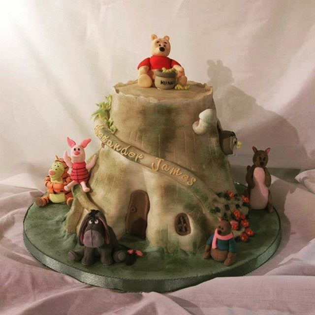 With today been World Book Day, here at Cakes D we thought we would show you an amazing Winnie the Pooh cake that Nikki created #cakes #vintage #winniethepooh #vintage #york #independent #tearoom #clifton #homemade #homemadecake #worldbookday #worldbookday2019 #bright #colourful