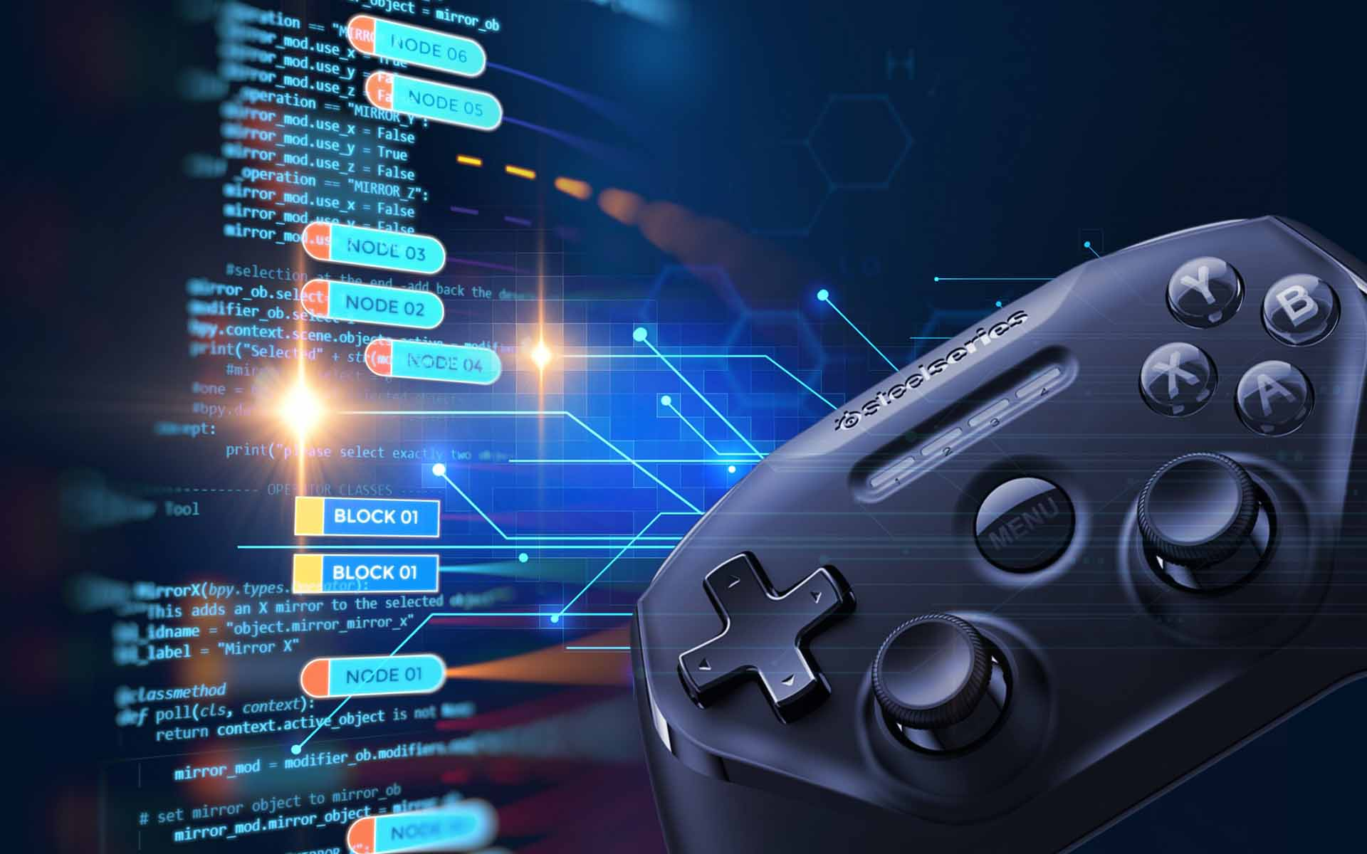 Gaming & Blockchain  (Image Credit -    Bitcoinist   )