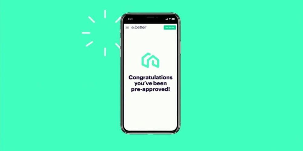 App screen from Better Mortgage ( Image Credit - Fintech Zoom )