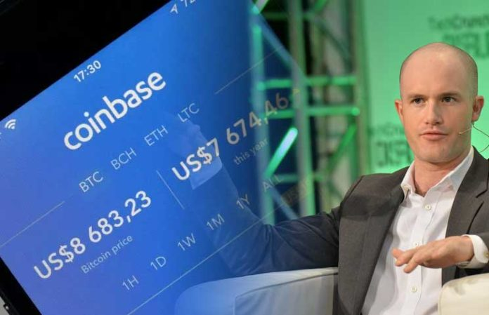 Brian Armstrong, CEO of Coinbase ( Image Credit -    BTC  )