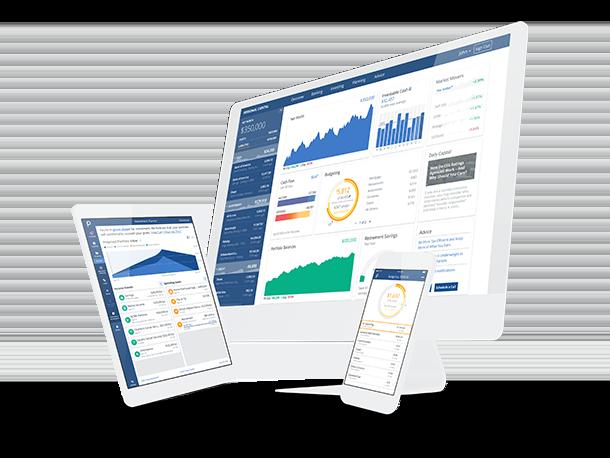 Image of screens of Personal Capital platform ( Image Credit -    Personal Capital  )