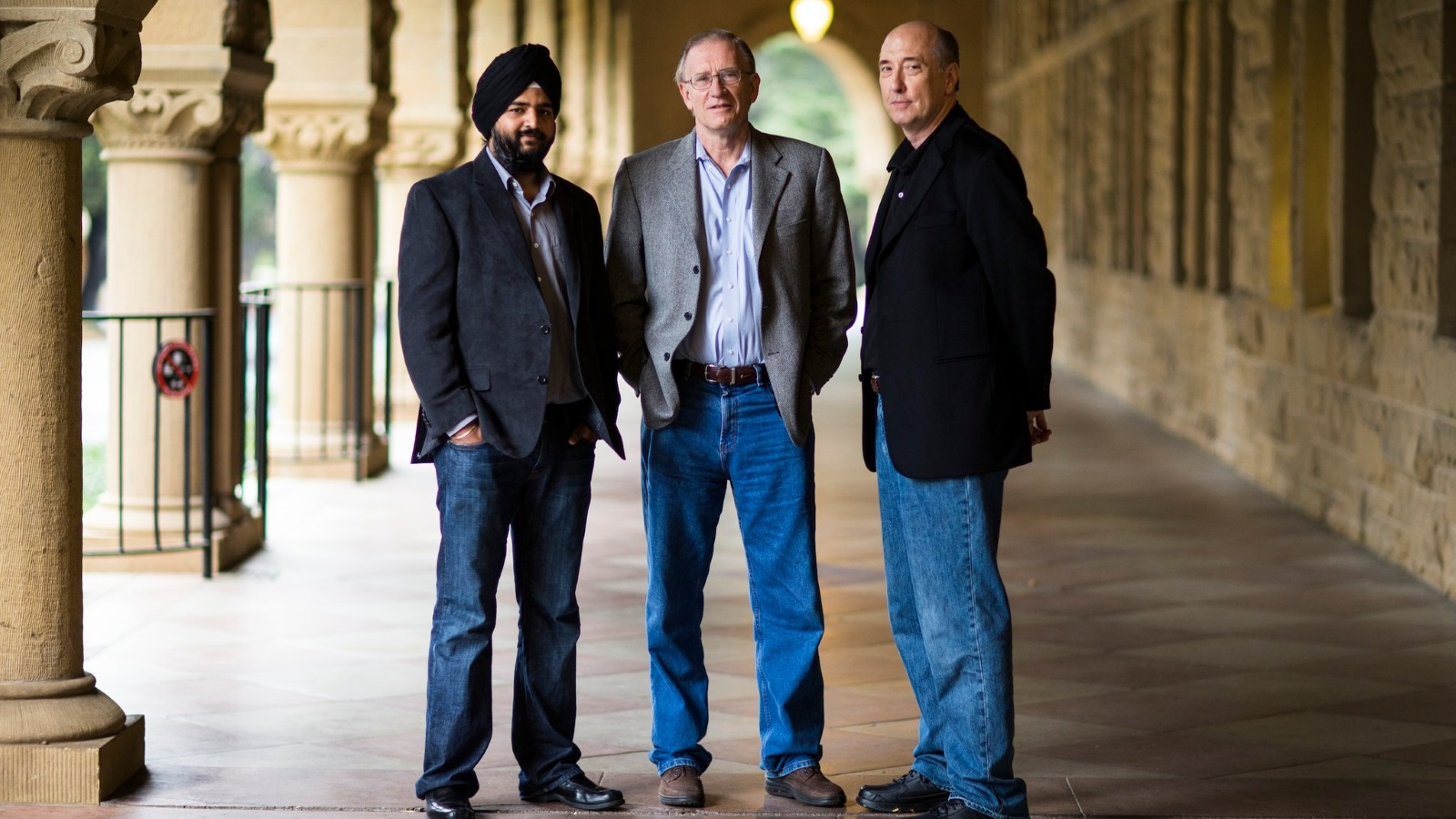 Founders of Ayasdi, Gurjeet Singh, Gunnar Carlsson, and Harlan Sexton (Image Credit -  Silicon Angle )