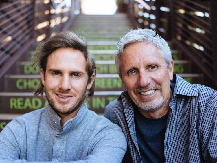 Acorns founders Jeff and Walter Cruttenden (Image Credit -  Business Insider )