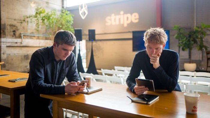 Stripe's founders, John and Patrick Collison (Image Credit - BBC )