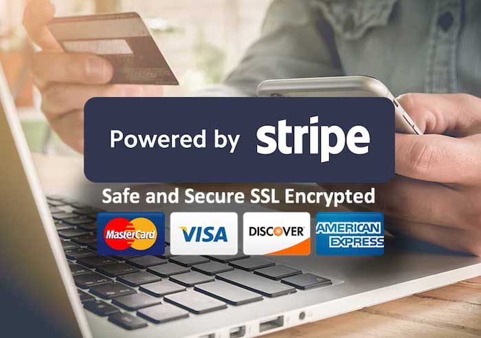 Screen of Stripe Payments secure logo (Image Credit -  OP Live )