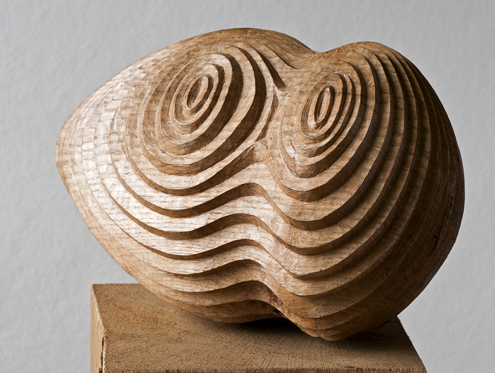 Concentra II, Hearts of Oak,solo show (2015) . Bedales Gallery, Hampshire, UK . Photo: Jacqui Hurst