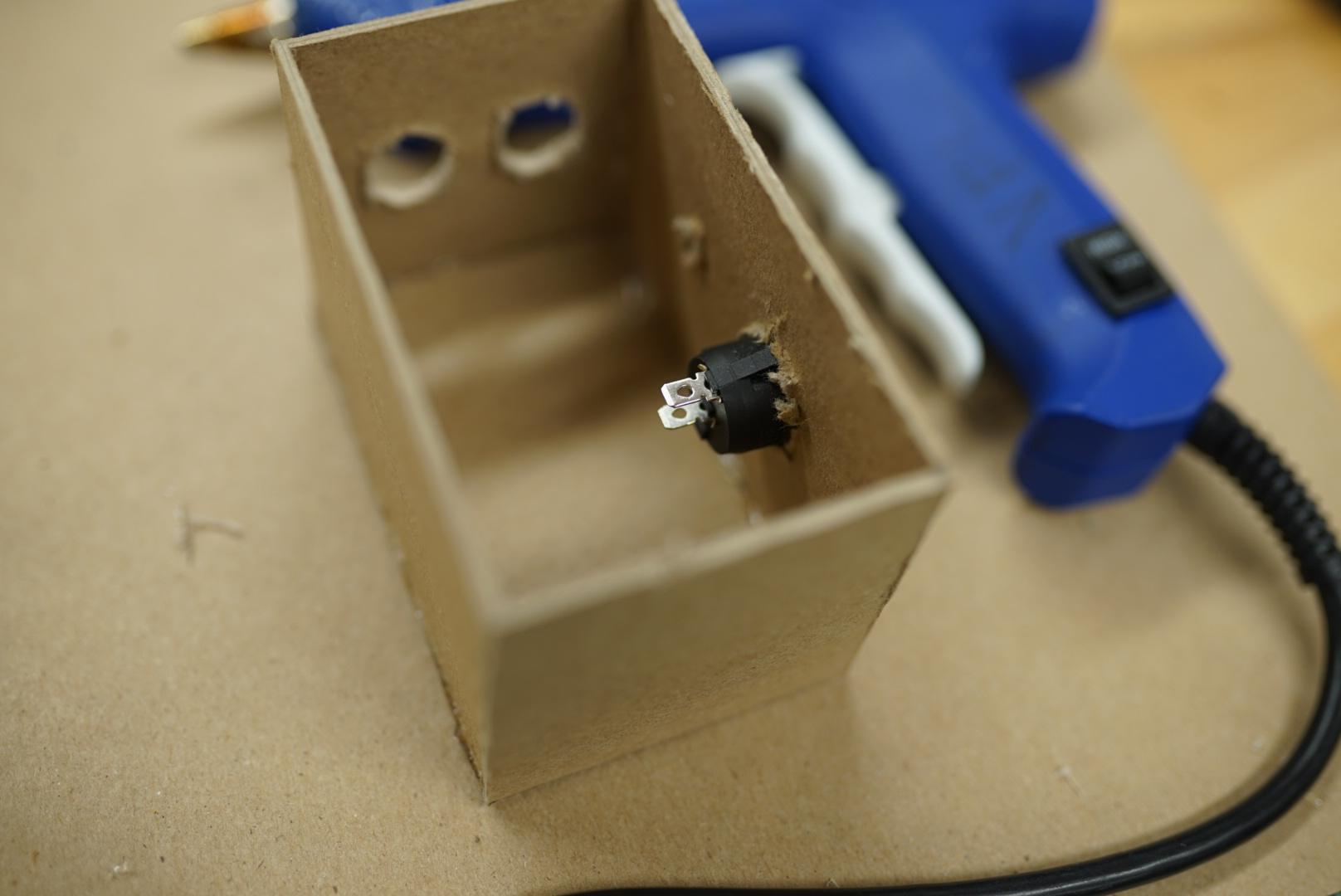 Bond Pieces Together via Glue Gun