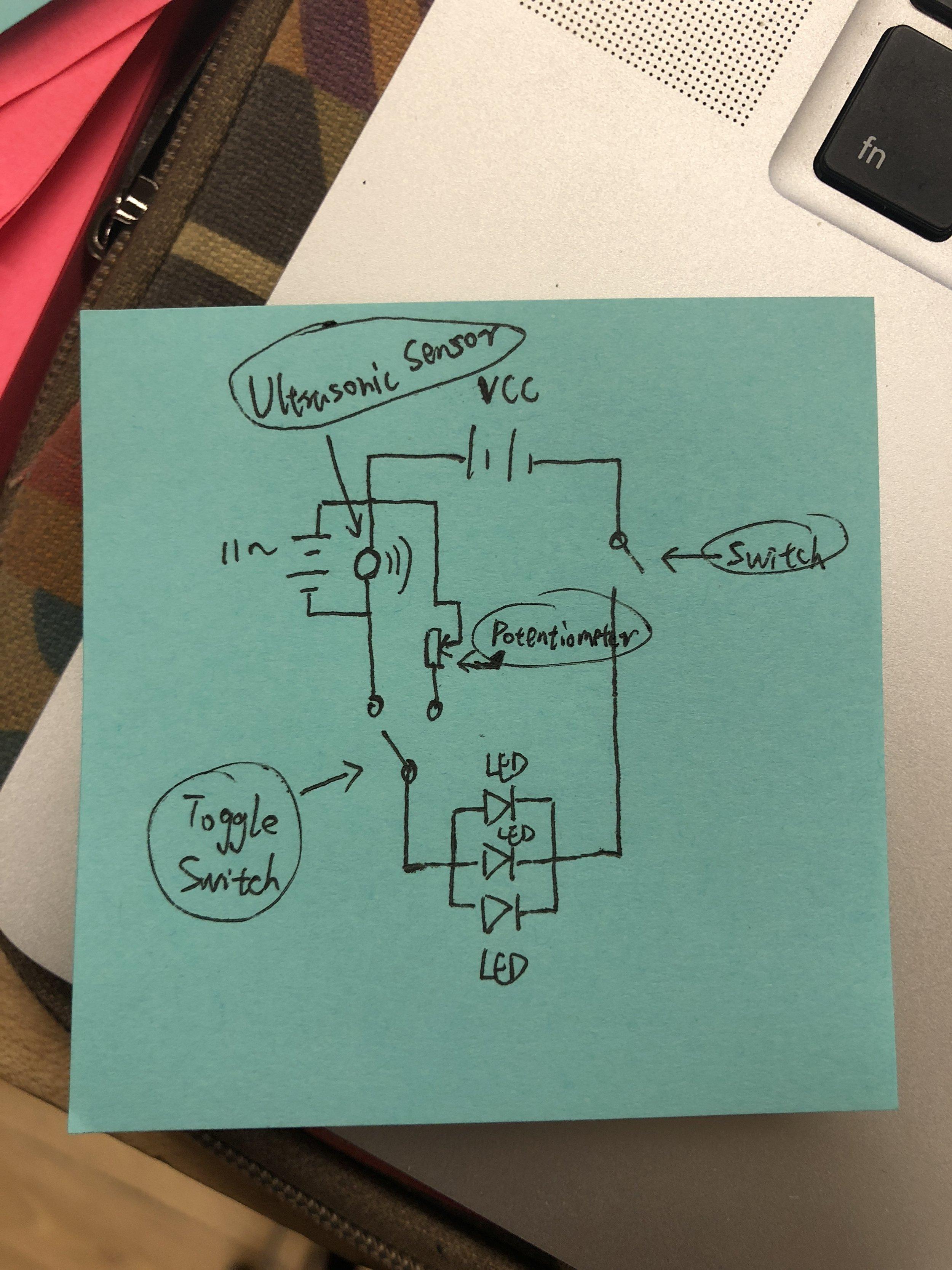 Draw Schematic Diagram