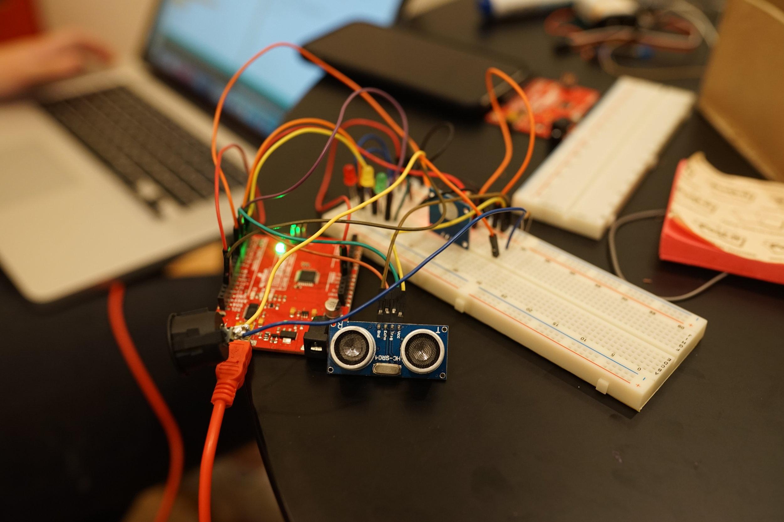 Making Physical Circuit