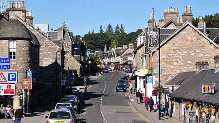Pitlochry Town Centre -
