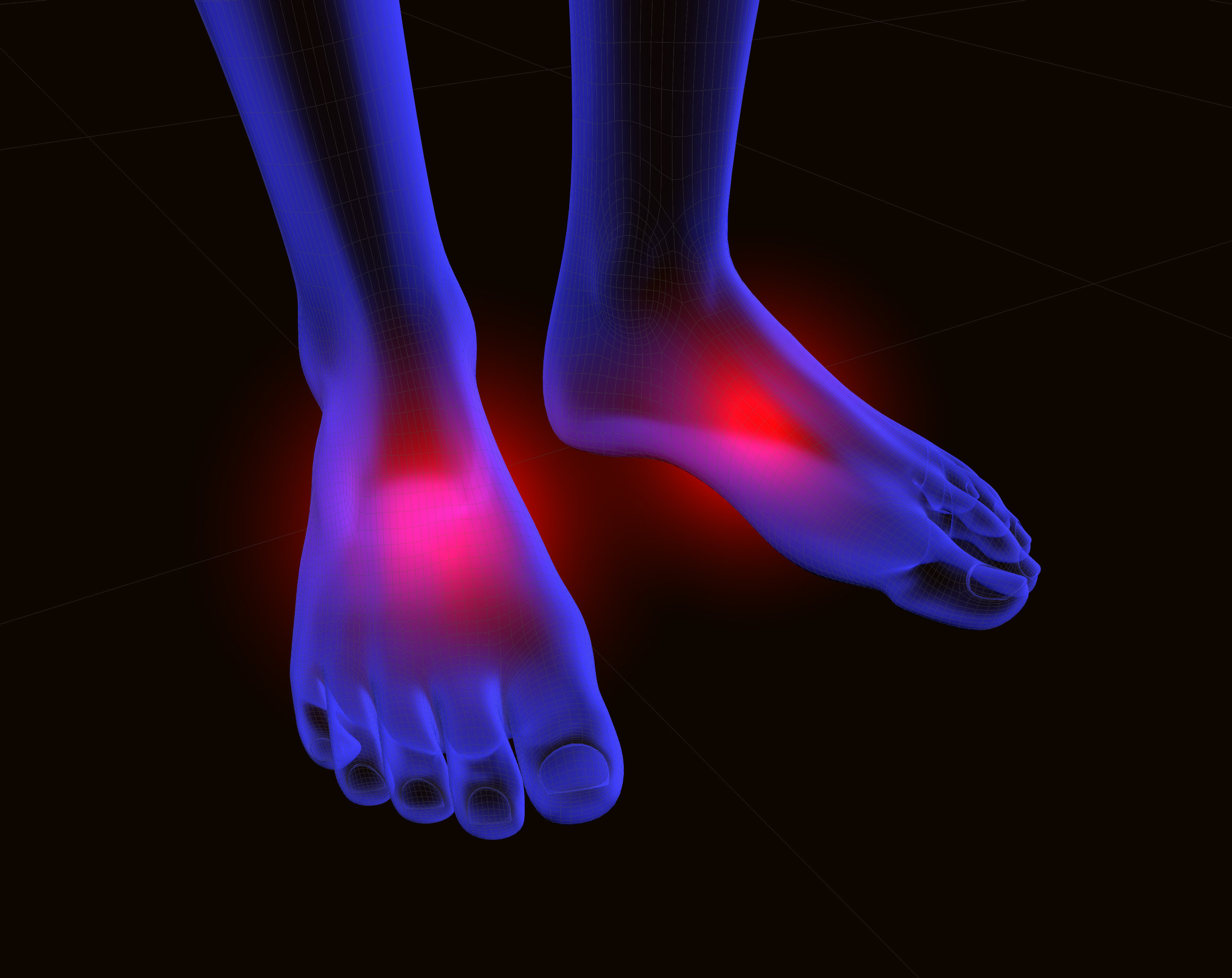 foot numbness, burning feet treatment