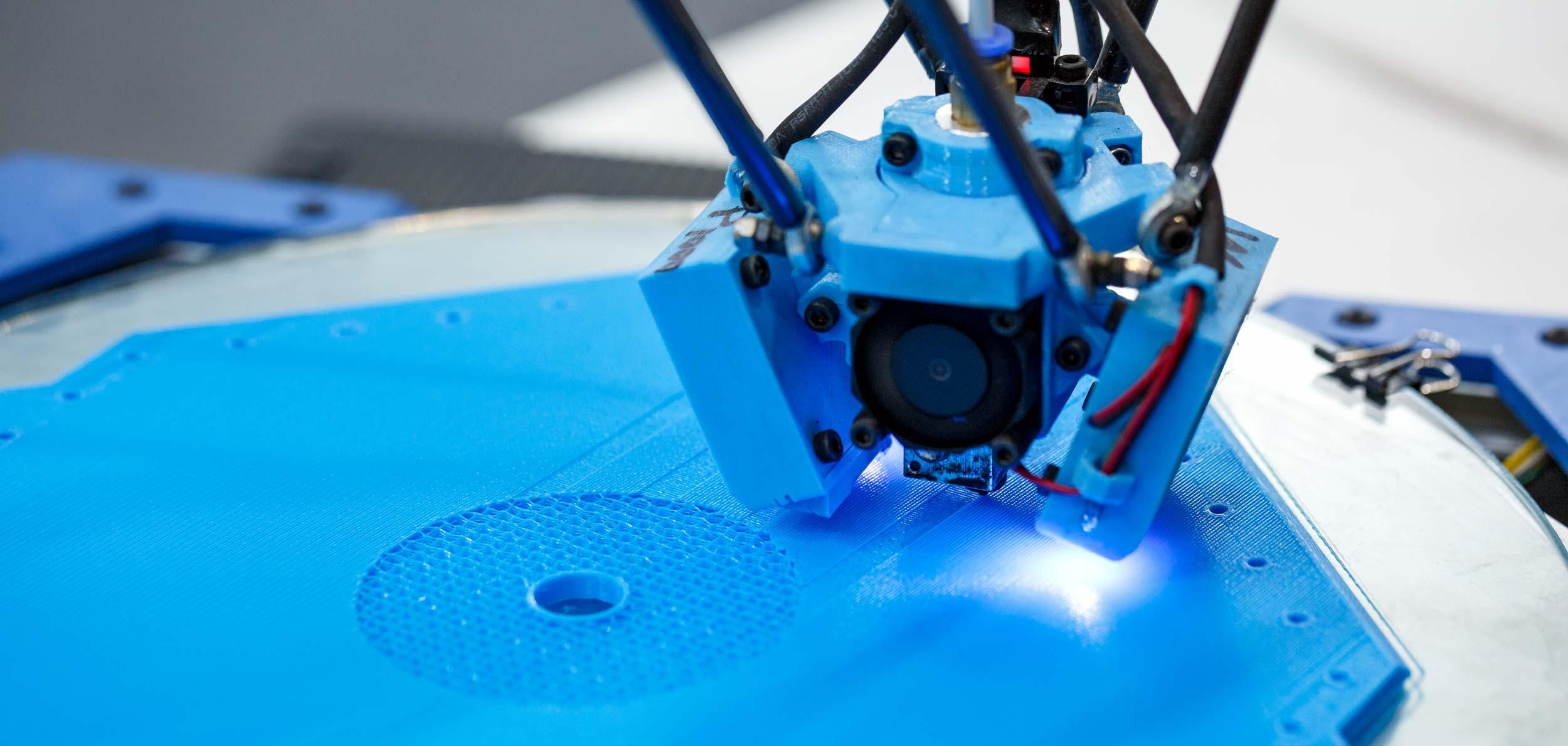 3D принтер за работой