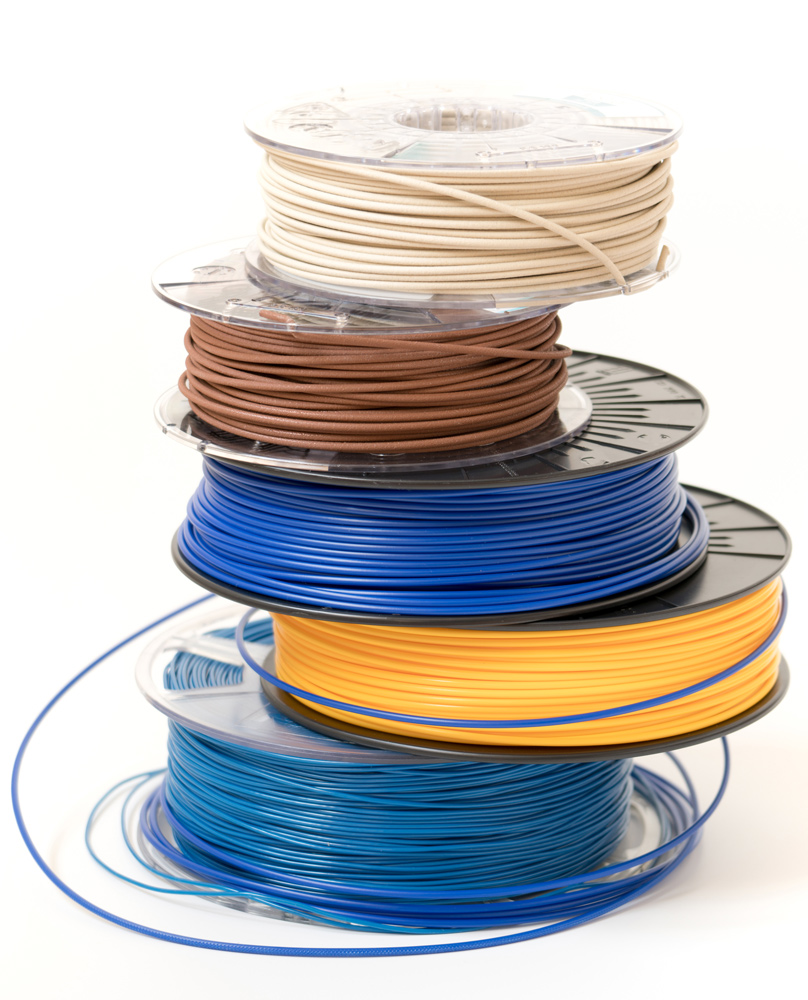 Катушки с пластиком для 3D печати FDM