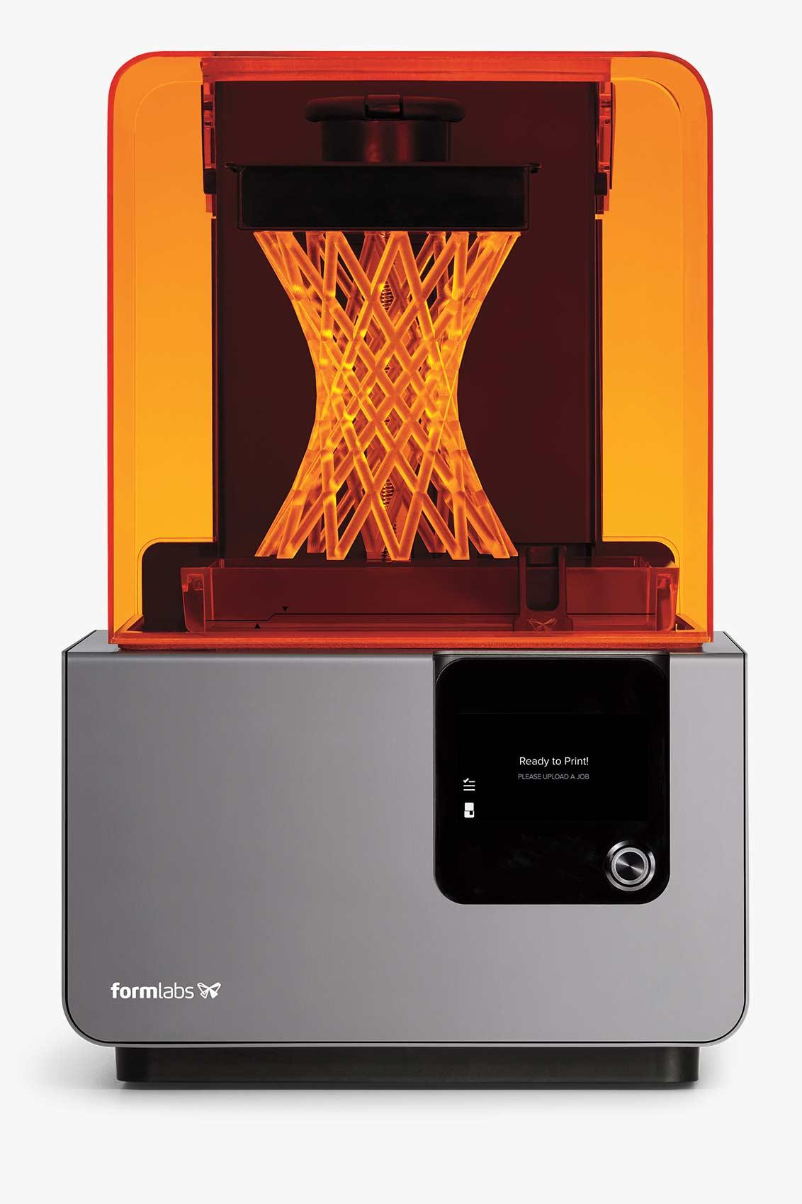 Formlabs Form 2 — SLA 3D принтер. Фото  formlabs.com