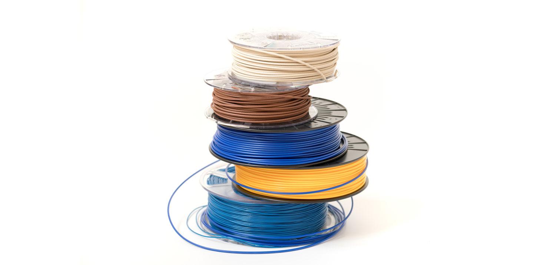 Филаменты для 3D печати в катушках