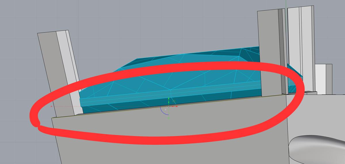 Рисую кривую для обрезки крапанов по углу наклона каста