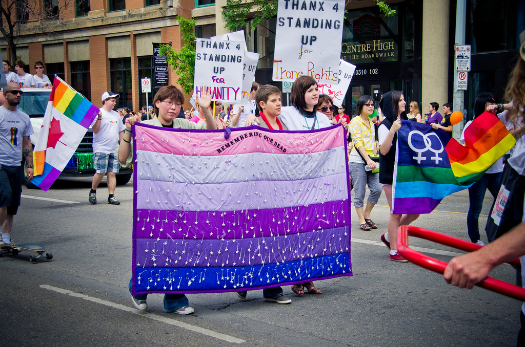"""Now, to my trans folks: - Many of you have written in struggling with being your whole authentic self in the face of churches and theologies that tell you there is something wrong with you. Or you are living in families that refuse to acknowledge and honor you. I get it, my family is there, too. It's hard and demoralizing and downright depressing some (most?) days. It can be hard to separate out what everyone else is saying from what your heart is saying. It can be hard to make space to hear your own soul speak to you when the noise of so many people close to you is so loud.I want to encourage you to do something:Step One:Every time a negative thought about your gender identity or expression goes through your head I want you to stop for a minute and really examine it. Who's voice is it in? When you hear it do you hear it in the voice of your mother? Or maybe your pastor? Maybe it's your voice but when you sit with it for a bit you realize that it came from somewhere else first. Start identifying what voices are in your head. Maybe it's time to set some boundaries around the people who are loudest. Can you get some distance from your family for a bit? Or from your church?Step Two:Next I want you to make a list of positive statements about your gender and identity. Here are a few to get you started: """"I am fearfully and wonderfully made."""" """"I am whole and holy just as I am."""" """"I am created in the image of a God who defies gender."""" Maybe you want to write down some quotes from people like Laverne Cox, Janet Mock, Tiq Milan, or others. Keep a jar of positive thoughts on notecards.Step Three:Now, every time you hear a negative statement, I want you to (immediately if you can) counter that negative statement with two positive ones. Every. Time.Start to change the narrative in your own head from negativity to positivity. It's the first step to wholeness and health and reclaiming your faith."""