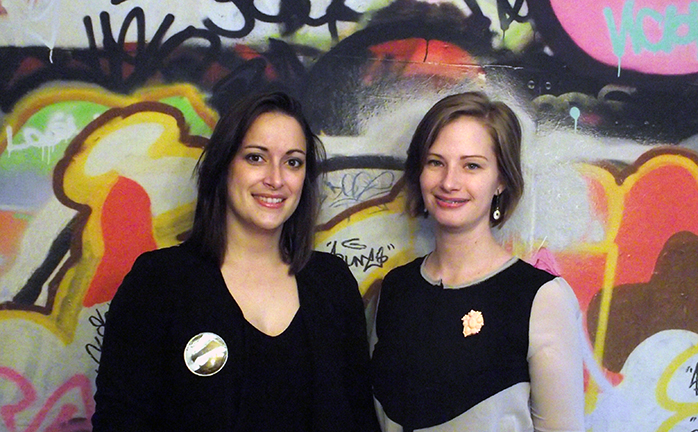 Co–Adorn  co-founders Emily Blair Wareham and Chantel Gushue